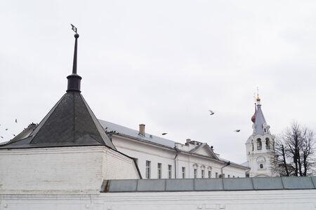 bogolyubovo: Nunnery in city Bogolyubovo                                Stock Photo