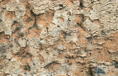 red clay: Background with texture of the old brick from red clay