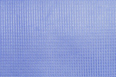Beautiful blue background from artificial material with sample and direct line