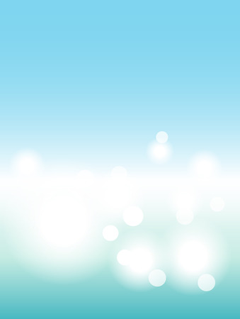 minimalist: Sea blurred background