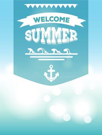 design design elemnt: Welcome summer