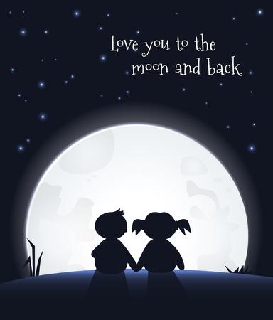 Amate la luna e ritorno