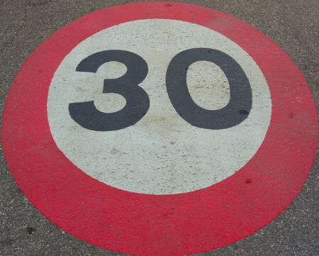 limit: speed limit thirty