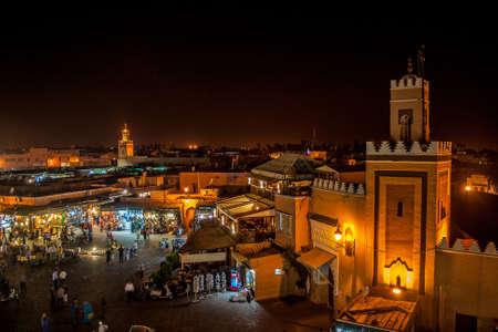 marocco: Marrakech by night