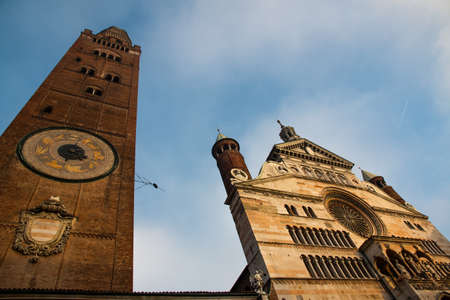 medioeval: Historical centre of Cremona, Italy