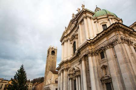 Duomo square, Brescia, Italy