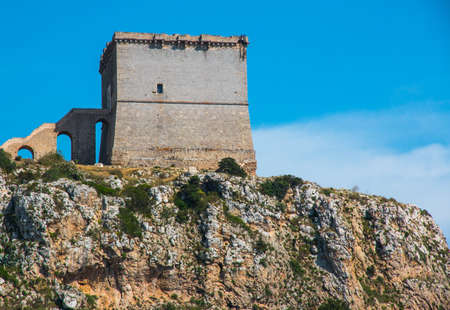 Watchtower near Santa Caterina (Torre dell'Alto), Salento, south Italy