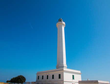 Lighthouse of Santa Maria di Leuca, Salento, Apulia, Italy