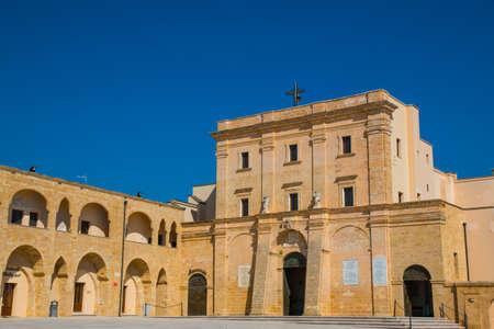 Sanctuary of Santa Maria di Leuca, Salento, Apulia, Italy Stock fotó