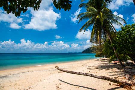 Tekek beach of Tioman island in Malaysia
