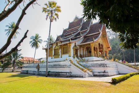 Haw Pha Bang temple, near Royal Palace of Luang Prabang