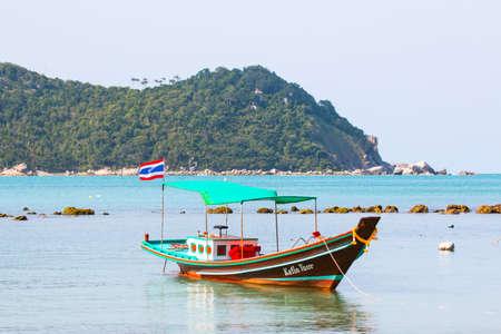 Taxi boat near Thong Nai Pan Yai Beach, Koh Panghan island, Thailand