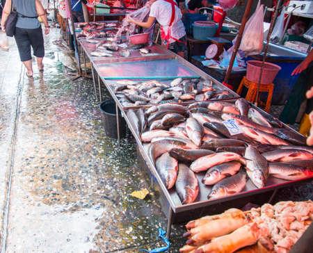 klong toey market, Bangkok, Thailand