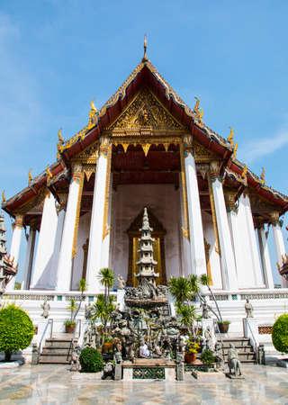 Wat Suthat, (Suthattepwararam Temple), Bangkok, Thailand