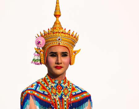 traditional thai costume, Bangkok, Thailand