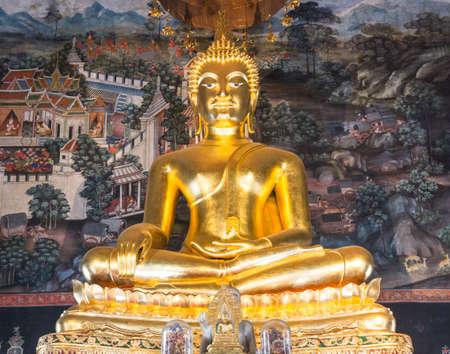 Wat Bowonniwet Wihan (Pavaranivesh Vihara Rajavaravihara), Phra Nakhon district, Bangkok, Thailand. Editorial