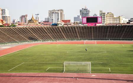 stadium of Phnom Penh, Cambodia