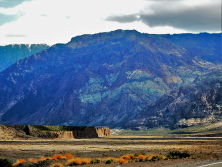 magnificence: Stone colors. The magnificence of the Andean foothills.