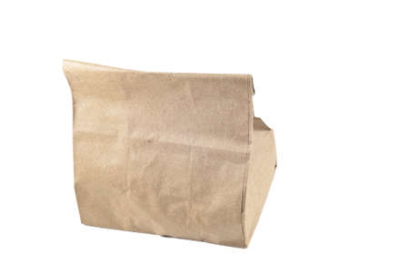 Paper bag on white background,isolated Stock Photo - 11005486