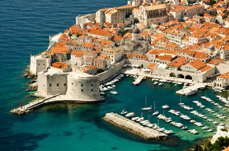The Old Town of Dubrovnik, Croatia Stock Photo