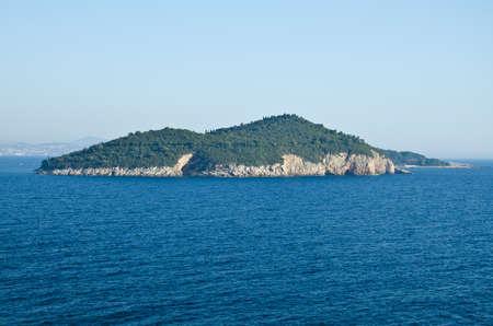 residental: an island closed to Dubrovnik in Croatia