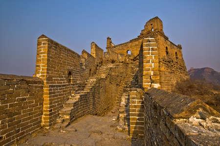 Great Wall of China at Sunny Day. Stock Photo - 13650969
