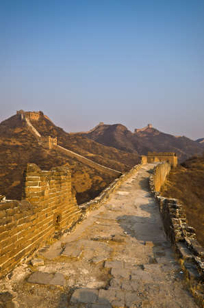 Great Wall of China at Sunny Day. Stock Photo - 13650966