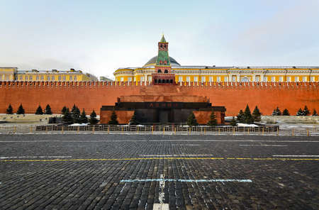 Kremlin, red square in Moscow, Russia photo