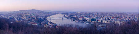 Panorama of Budapest, Hungary photo