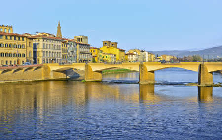 Bridge Ponte Vecchio in Florence, Italy photo