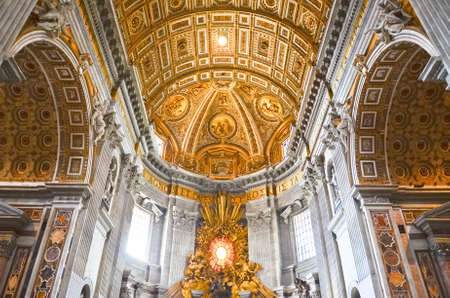 basilica of saint peter: St.Peters Basilica, Vatican Editorial