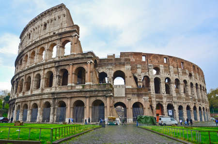 Roma: Colosseum in Rome, Italy