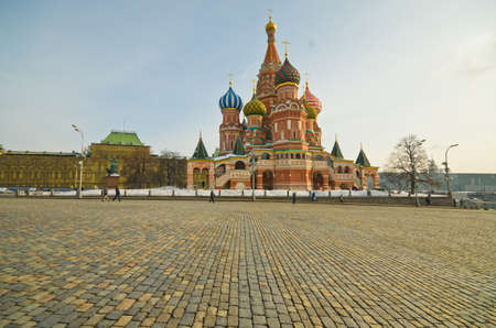 Saint Basil's Cathedral, at Red Square, Moscow, Russia Stock Photo - 15653576