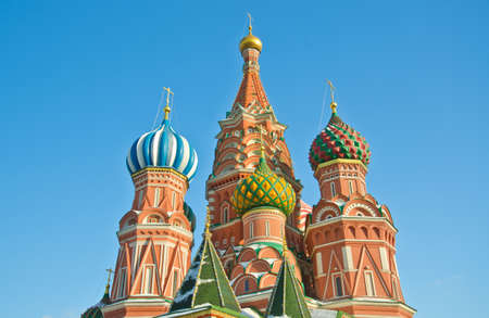 Saint Basil's Cathedral, at Red Square, Moscow, Russia Stock Photo - 15651322