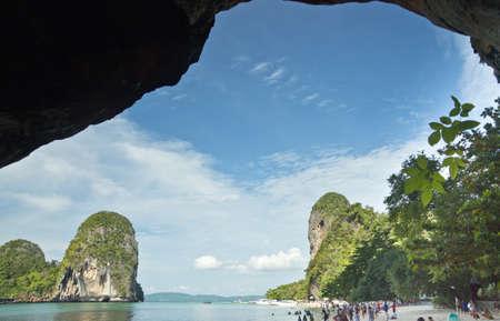 aonang: at the cave, Aonang,Railey, Krabi, Thailand