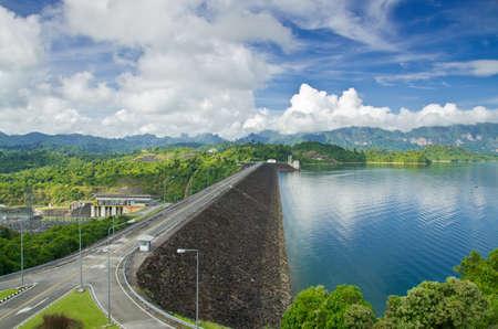 southern thailand: Ratchaprapha Dam Surat Thani province,Thailand
