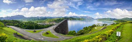 thani: Ratchaprapha Dam Surat Thani province,Thailand