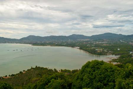 phuket: viewpoint phuket town thailand