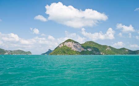 koh samui: Angthong national marine park close to Koh Samui, Thailand
