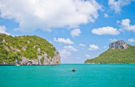 angthong: Angthong national marine park close to Koh Samui, Thailand