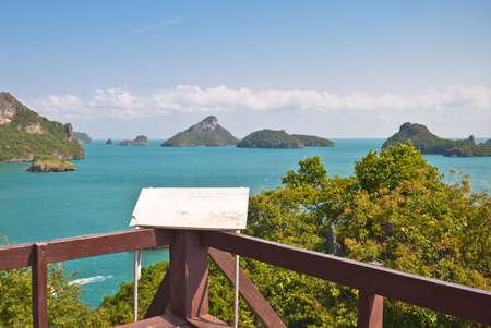 'koh samui': Angthong national marine park close to Koh Samui, Thailand