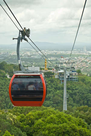 yai: Cable Car a Hatyai Park, Hat Yai, Thailandia