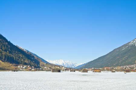 village in winter, Innsbruck,Austria photo