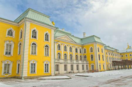 palace in Peterhof, Saint-Petersburg, Russia