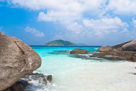 phangnga: Beautiful Beach Similan Islands.Thailand Stock Photo