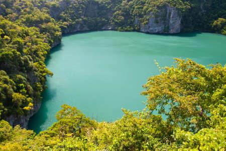 angthong: The emerald Inner Sea, Angthong Marine National Park, samui Thailand