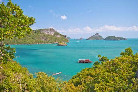 Angthong national marine park close to Koh Samui, Thailand photo