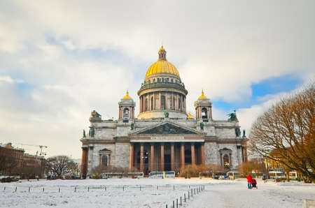 Saint Isaac's Cathedral in St Petersburg, Russia Stock Photo - 23751549