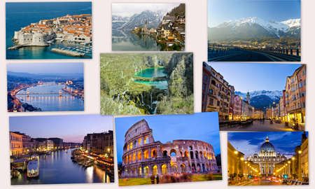 image collections of Europe photo