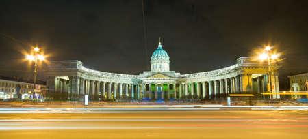 Kazan Cathedral, St. Petersburg, Russia photo